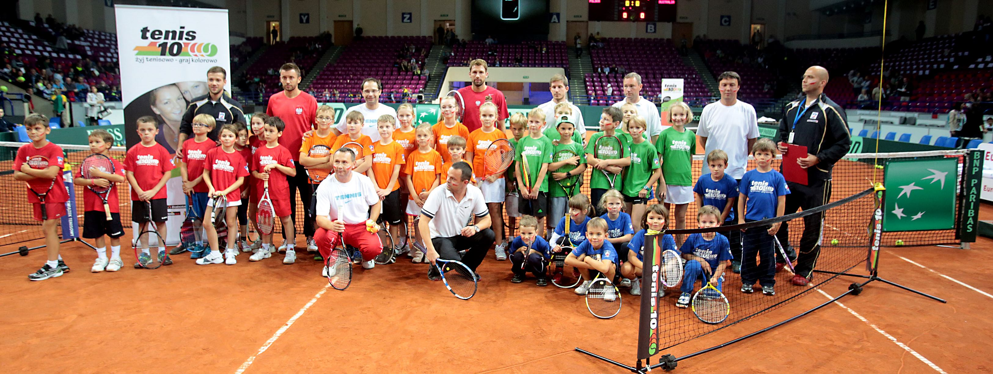 Dzieci z KS Tennis Life zaproszone na Puchar Davisa