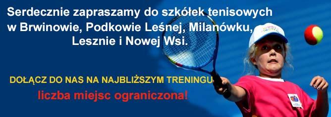 szkola tenisa rejestracja